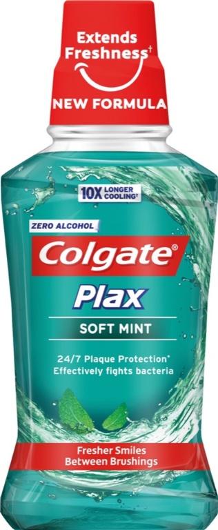 Colgate M/R Plax Blue - 250ml