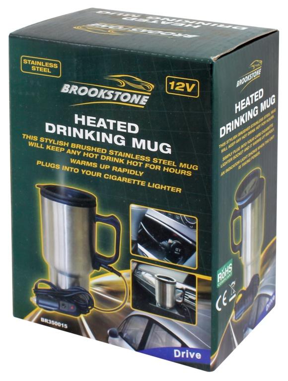 Brookstone Heated Mug - 12v