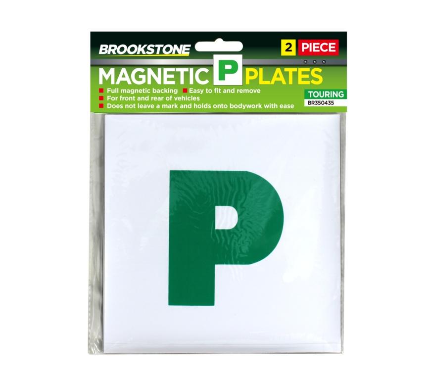 Brookstone P Plates Magnetic