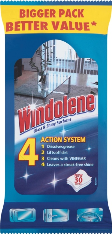 Windolene Wipes