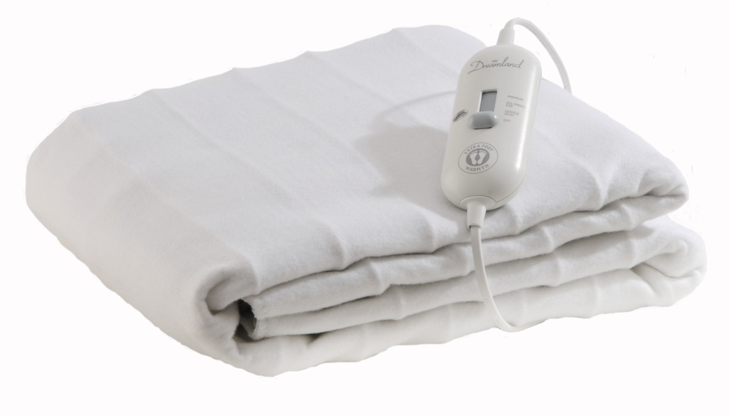 Dreamland Cosy Toes Heated Blanket - King