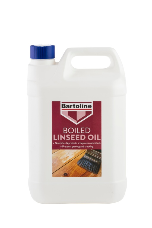 Bartoline Boiled Linseed Oil - 5L