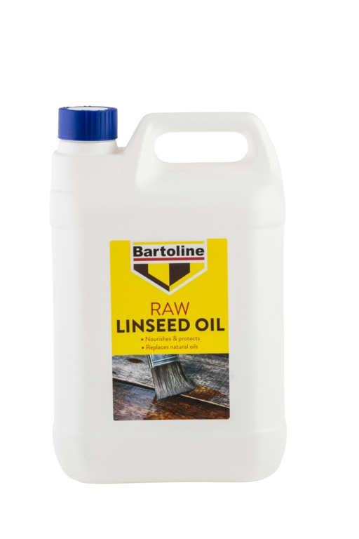 Bartoline Raw Linseed Oil - 5L