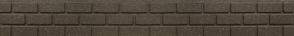 Primeur Ultra Curve Border Brick Tall 15cm - Earth