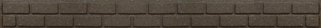 Primeur Ultra Curve Border Brick 9cm - Earth
