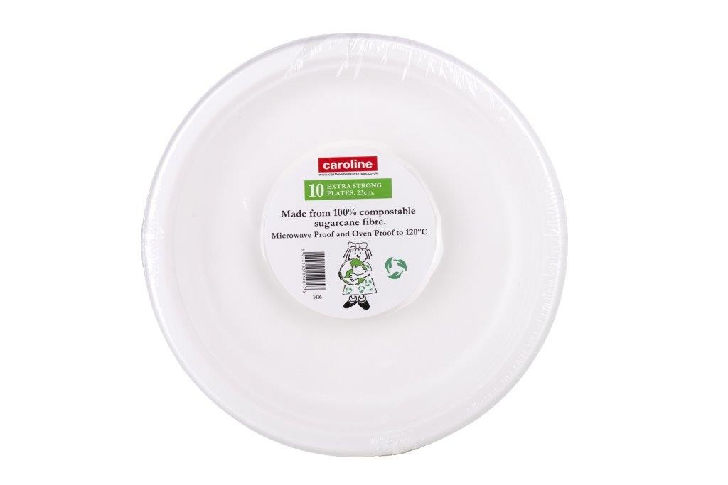 "Castleview Extra Strong Plates Pack 10 - 9""/23cm"