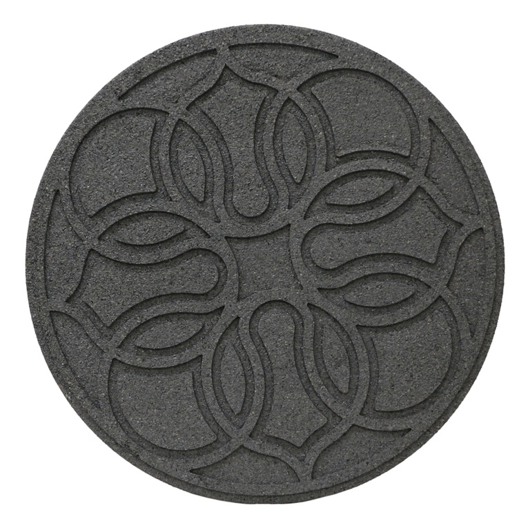 Primeur Reversible Stepping Stone - Medallion Grey