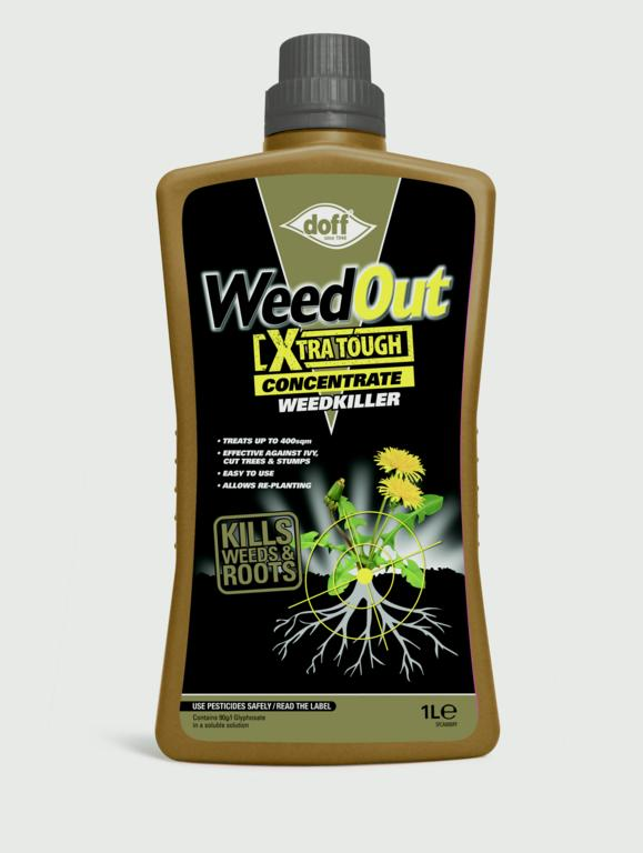 Doff Weedout Extra Tough Concentrate - 1L