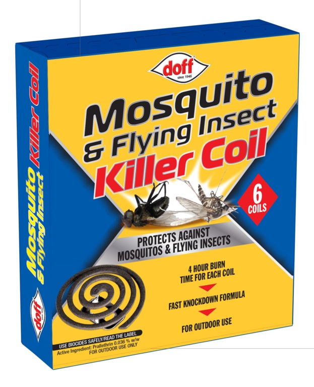 Doff Mosquito Coils - Pack 6