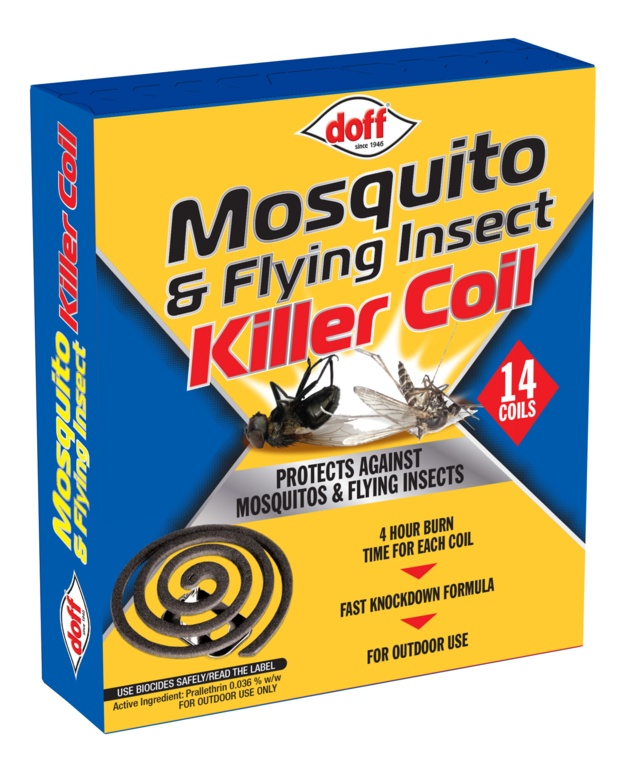 Doff Mosquito Coils - Pack 14