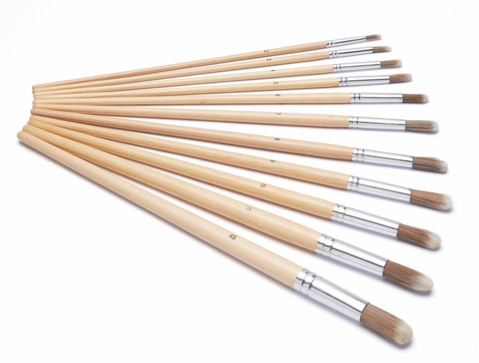 Harris Seriously Good Round Artist Paint Brush - Pack 11