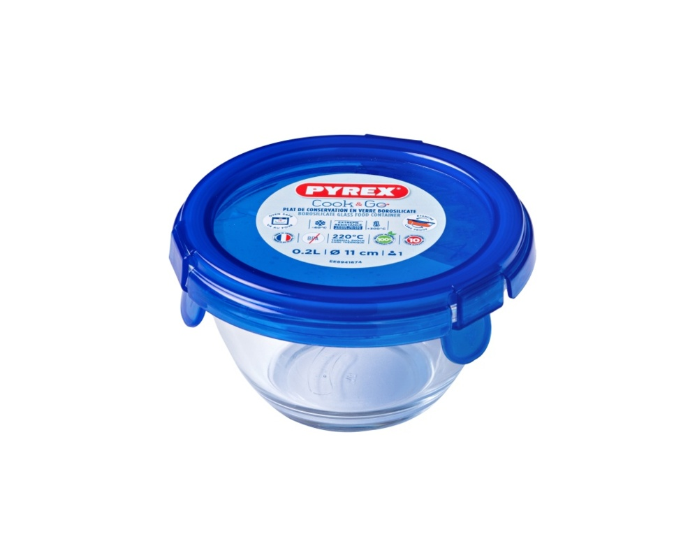 Pyrex Small Bowl With Lid - 0.2L