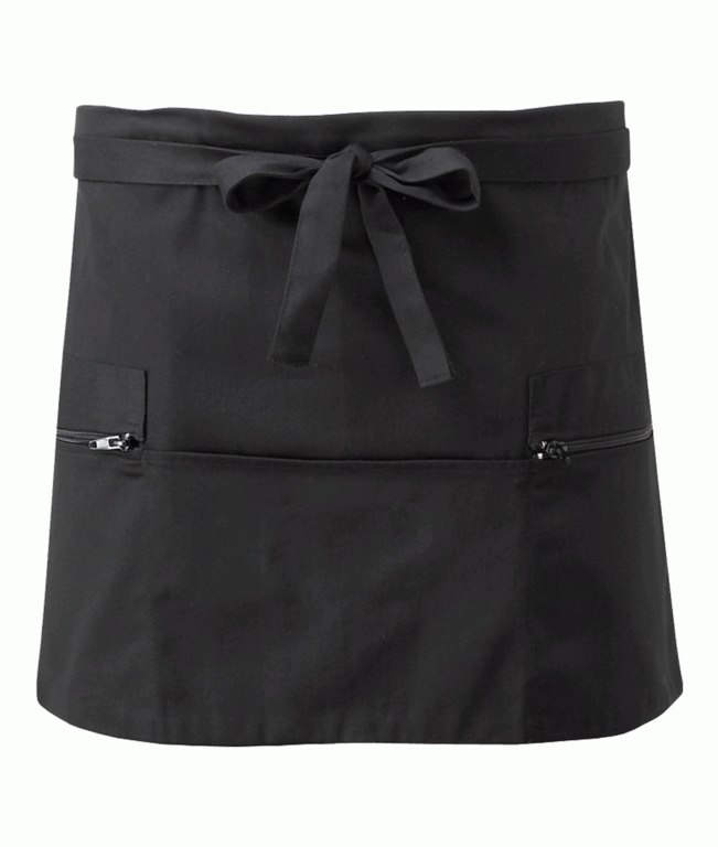 Orbit Short Apron - Black
