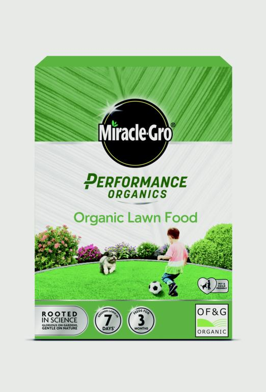 Miracle-Gro Performance Organics Lawn Food - 100m2