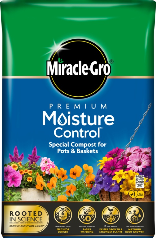 Miracle Gro Moisture Control Compost - 10L