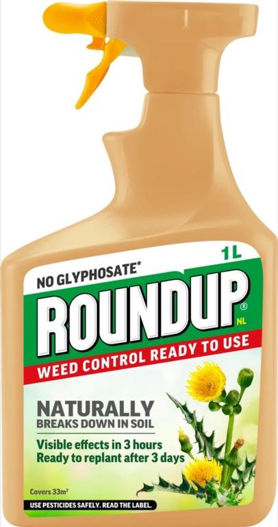 Roundup Natural Weed Control RTU - 1L