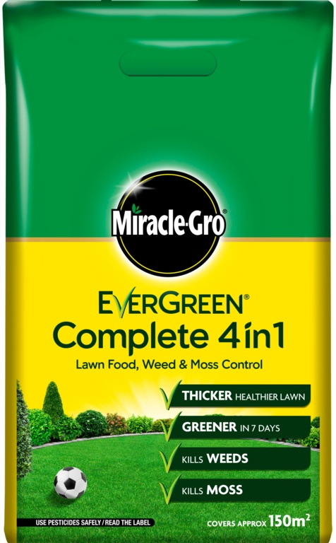 Miracle Gro Evergreen Complete - 150m2 Bag