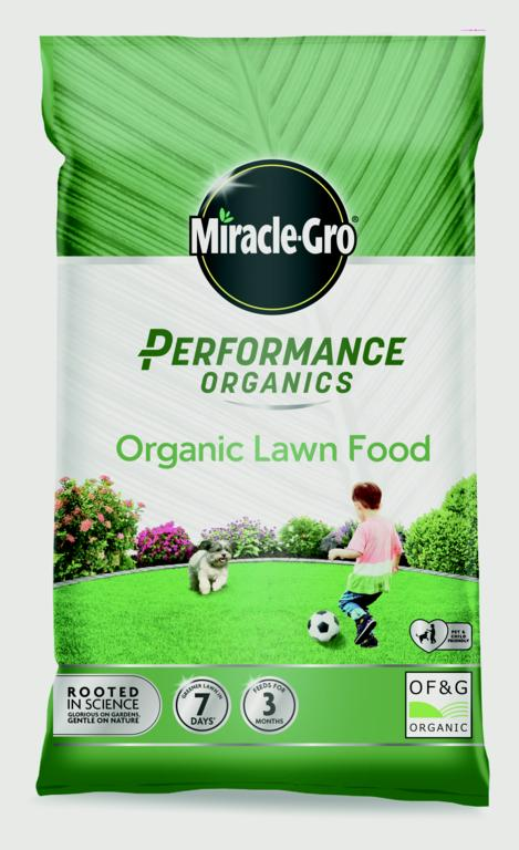 Miracle-Gro Performance Organics Lawn Food - 360m2