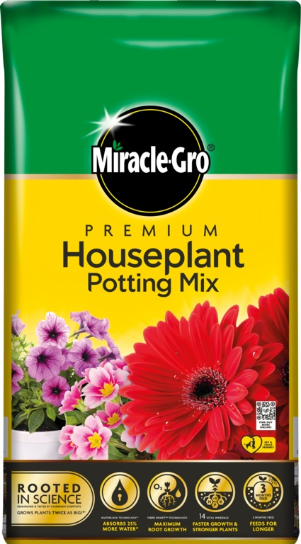 Miracle-Gro Houseplant Potting Mix - 10L
