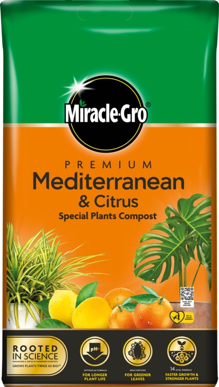 Miracle Gro Mediterranean & Citrus Compost - 6L