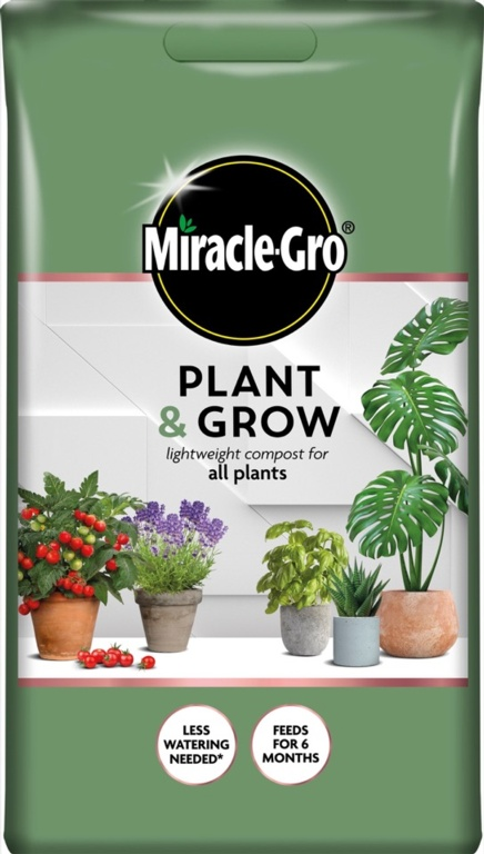 Miracle Gro Plant & Grow All Purpose Compost - 6L
