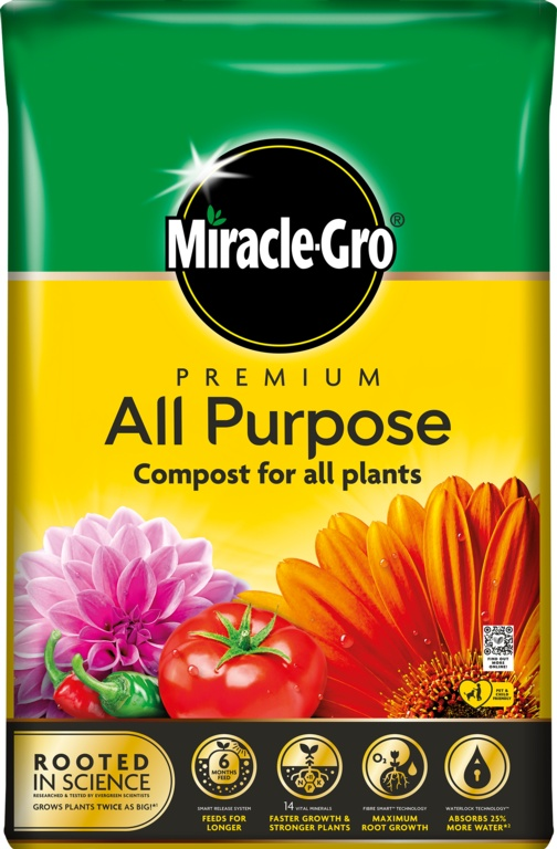 Miracle Gro All Purpose Compost - 50L