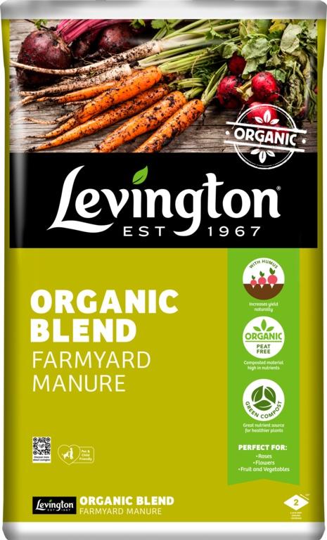 Levington Organic Blend Farm Manure - 50L