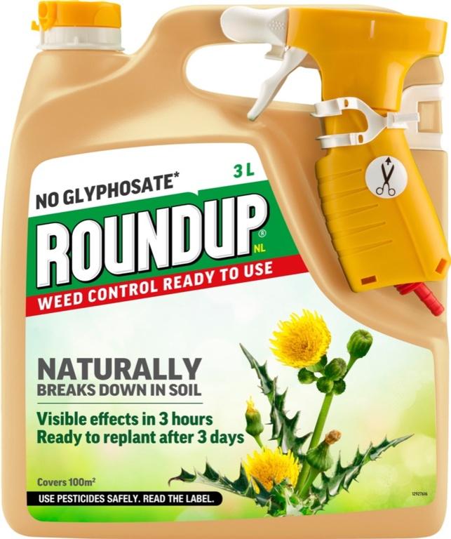 Roundup Natural Weed Control RTU - 3L