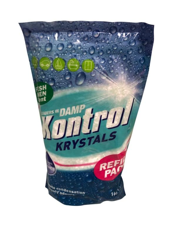 Kontrol Krystals Refill Pack -  2.5kg - Fresh Linen Scent