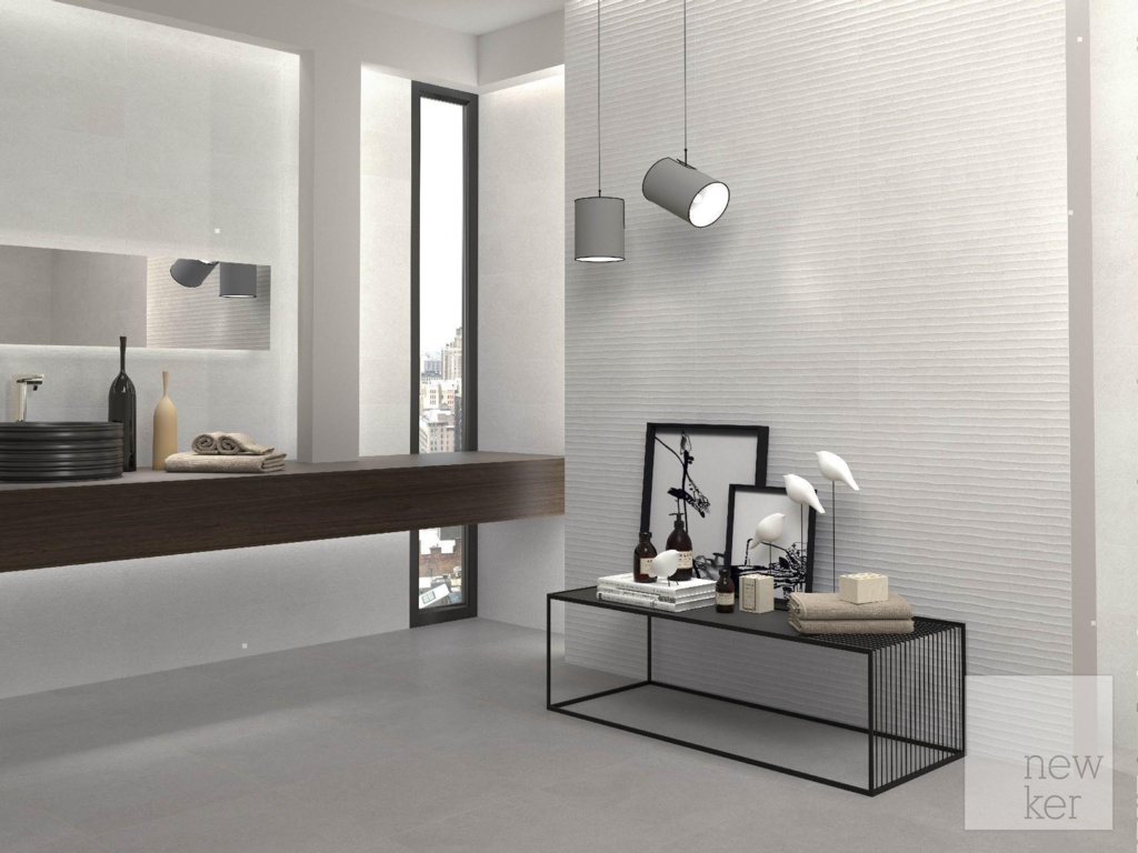 Newker Quartz Grey Ceramic Floor Tile 45 x 45cm - 1.42m2