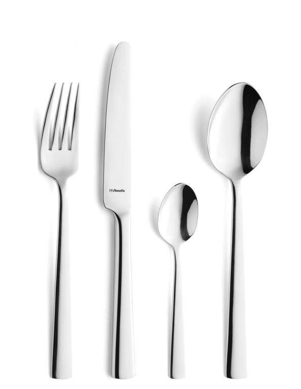 Amefa Modern Cutlery Set - 24 Piece Bliss