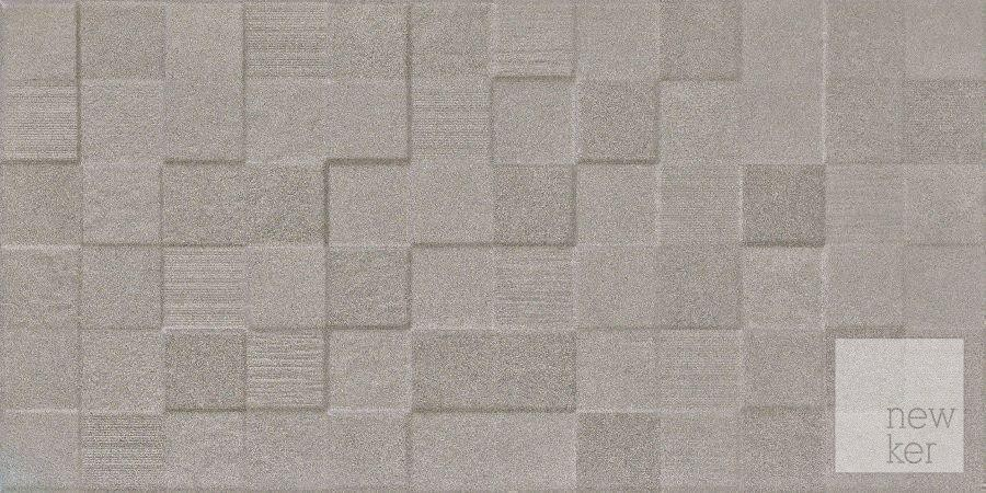Newker Quartz Grey Mosaic Wall Tile 30 x 60cm - 1.08m2