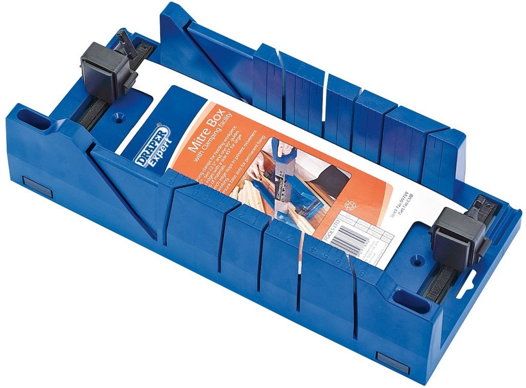 Draper Expert Mitre Box With Clamping Facilit