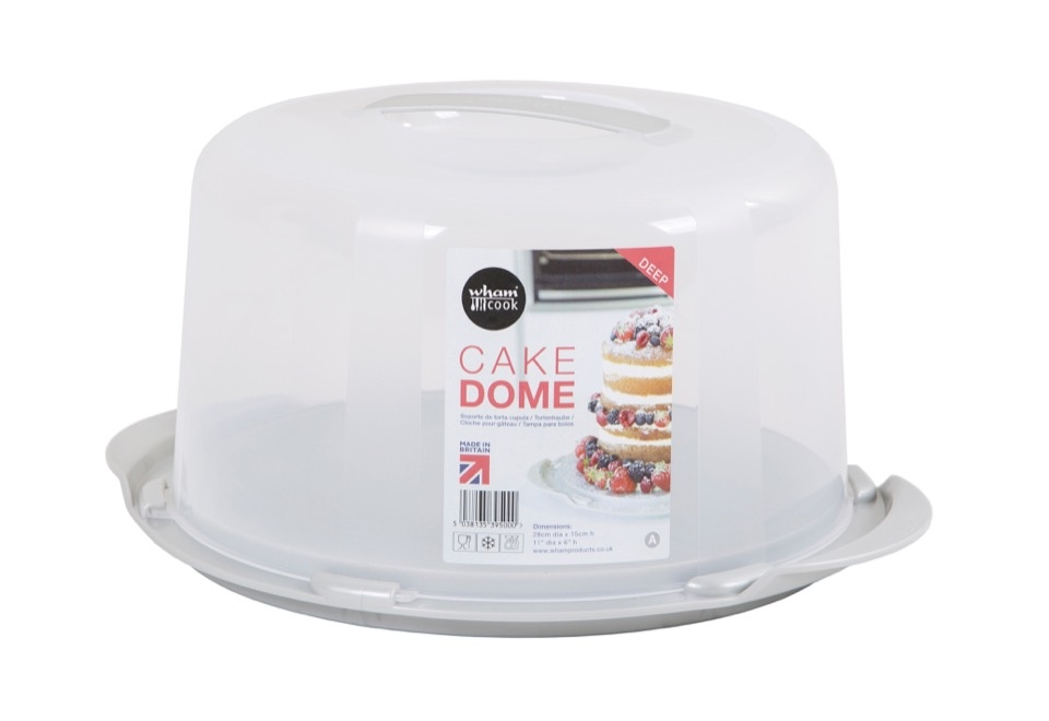 Wham Round Cake Storer Clear Lid - 30x15