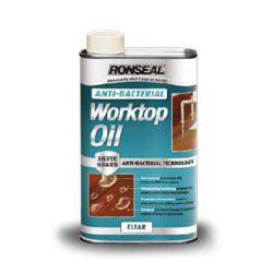 Ronseal Anti-Bacterial Worktop Oil - 1ltr