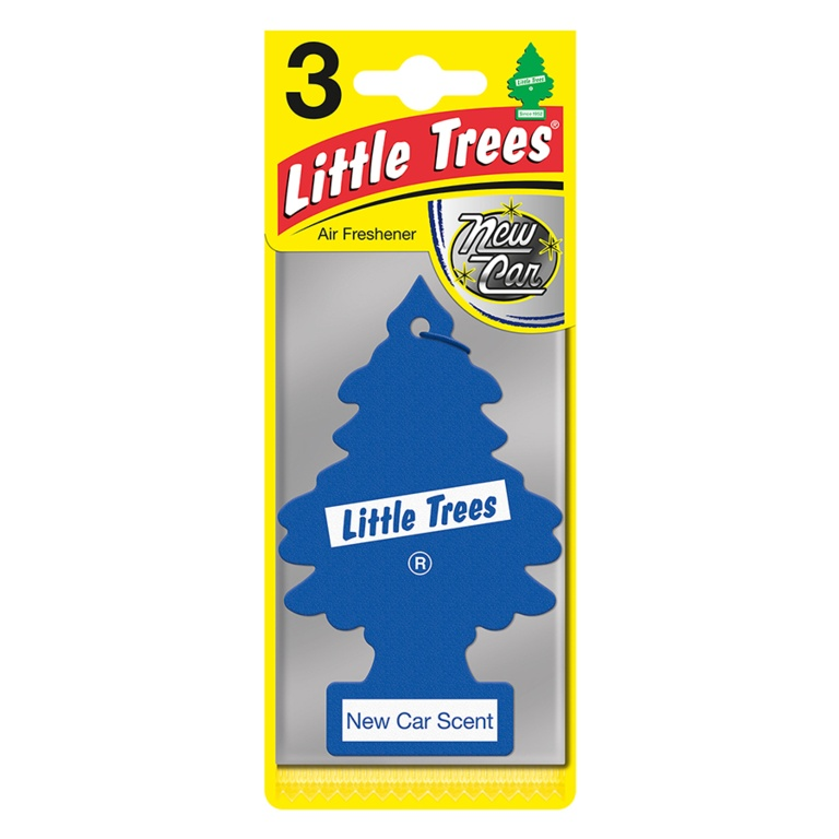 Saxon Little Trees Triple Pack - New Car Scent