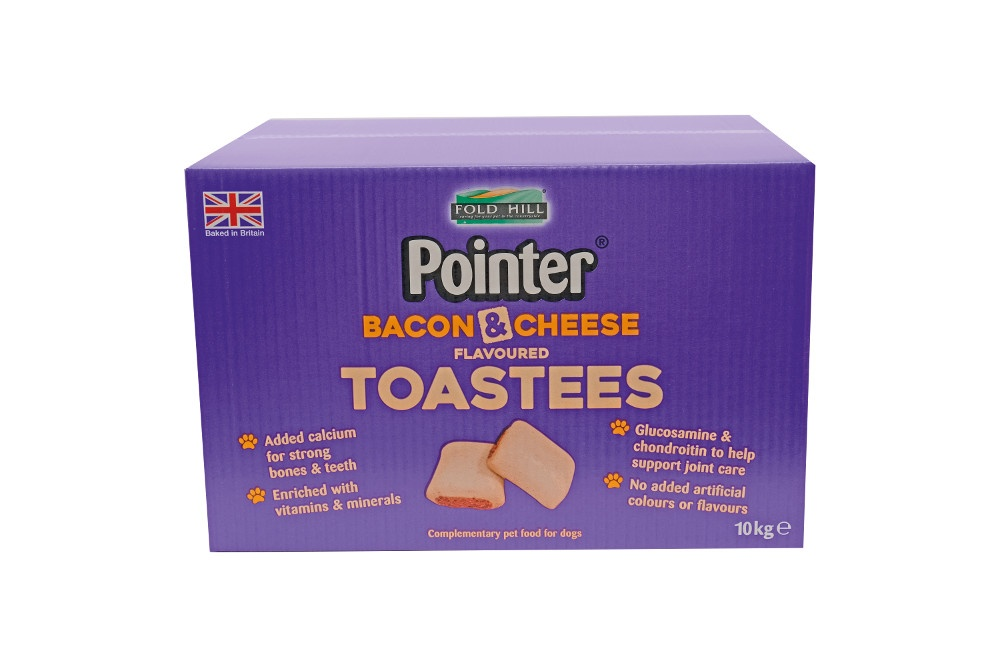 Fold Hill Foods Pointer Bacon & Cheese Toastees - 10kg