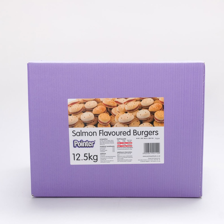 Fold Hill Foods Salmon Flavoured Burgers - 12.5kg