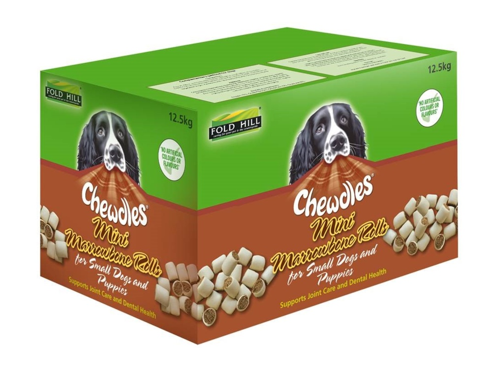 Fold Hill Foods Chewdles Mini Marrowbone - 12.5kg