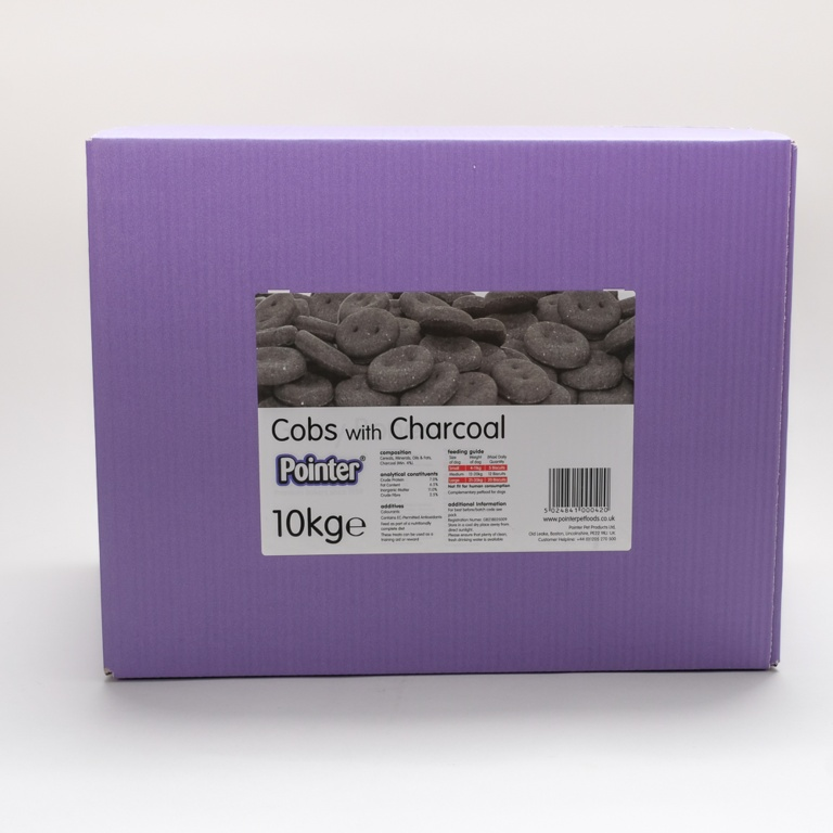 Fold Hill Foods Cobs With Charcoal - 10kg