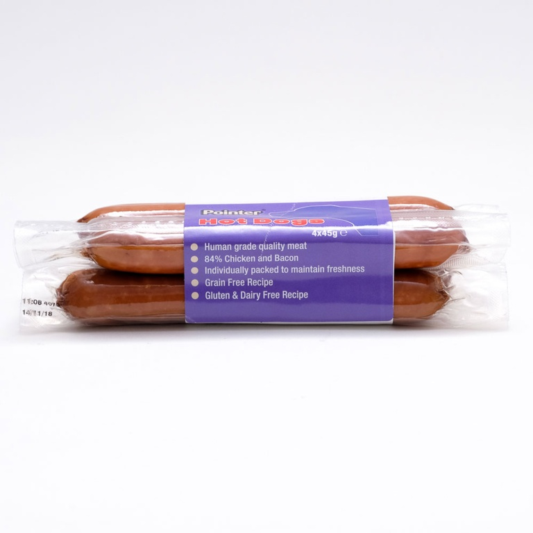 Fold Hill Foods Hot Dogs - 4 Pack 45g