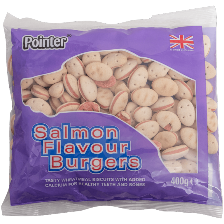 Fold Hill Foods Salmon Flavour Burgers - 400g