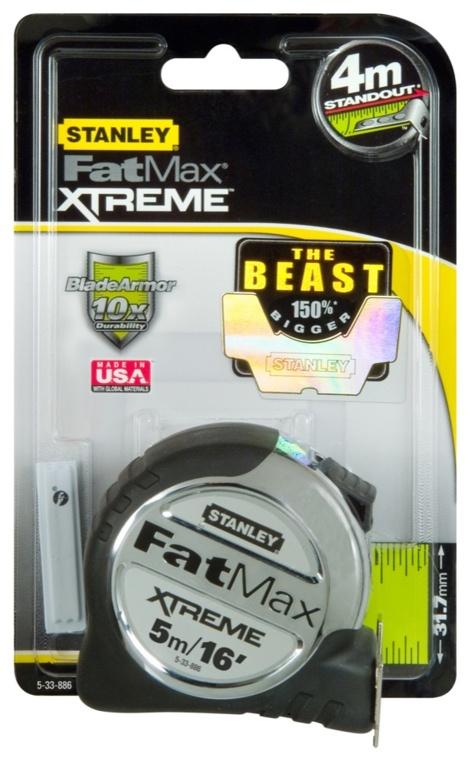Stanley FatMax Pro Tape - 5m/16'
