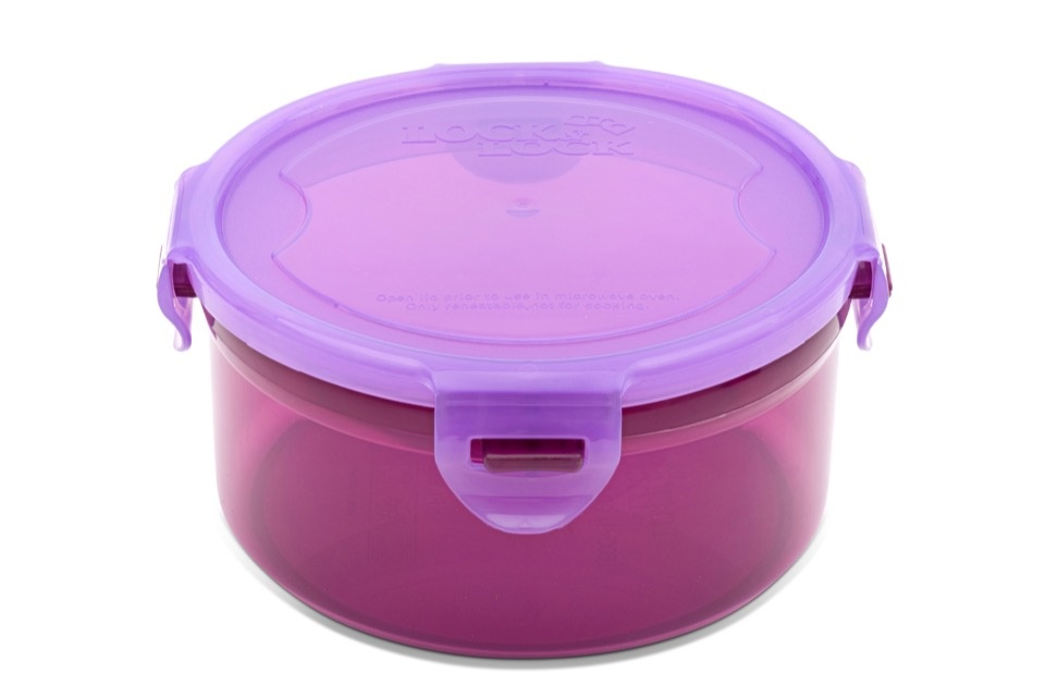 Lock & Lock Round Food Storer - 600ml