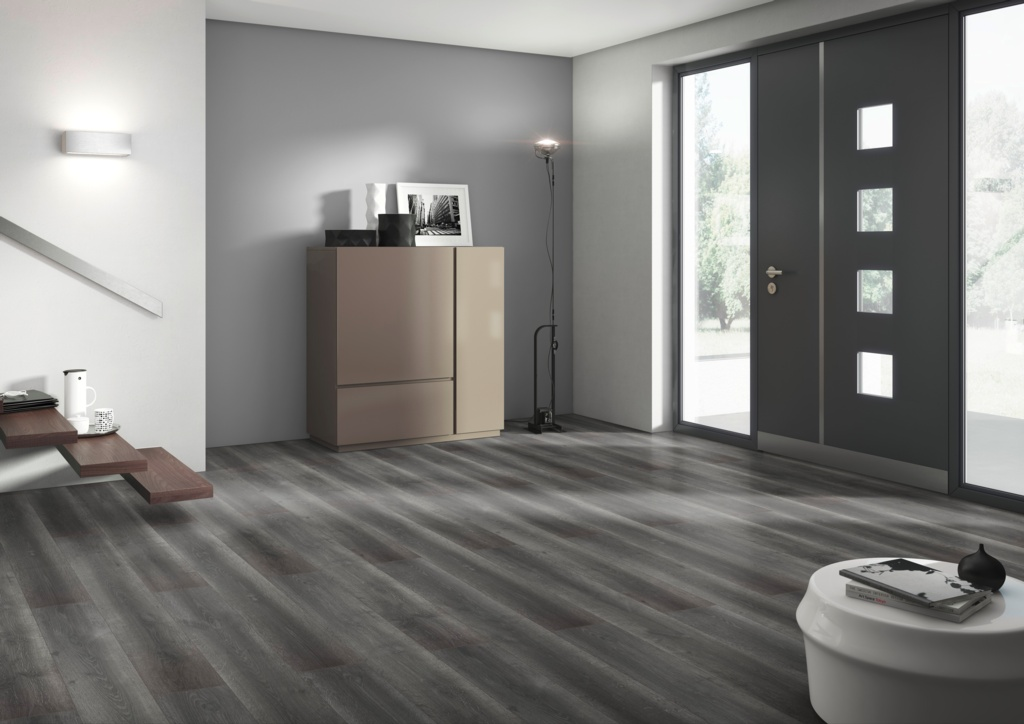 Classen Laminate Floor 1.996m2 - Dark Grey Danville 8mm