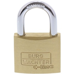 Sterling 50mm Mid Security Brass Padlock