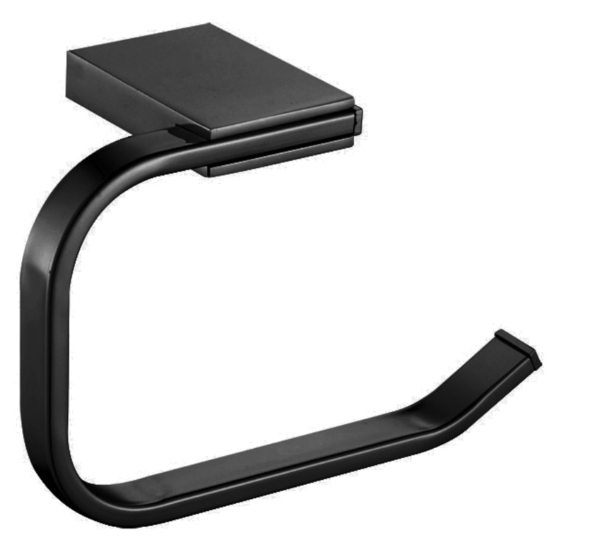 Blue Canyon Albany Toilet Roll Holder - Black
