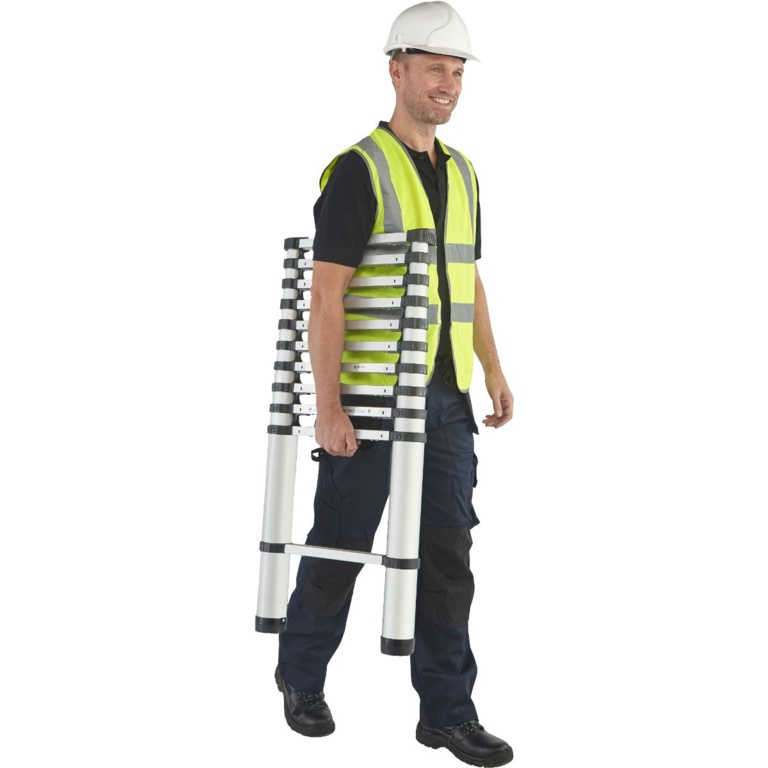 Youngman Aluminium Telescopic Ladder - 3.2m