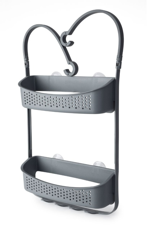 Blue Canyon Double Hanging Shower Caddy - Grey
