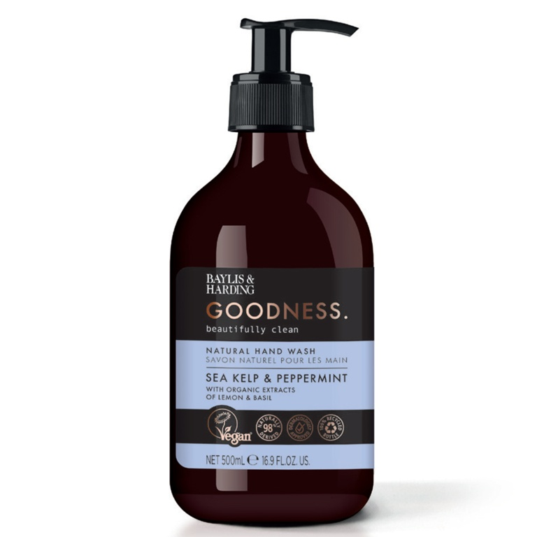 Baylis & Harding Hand Wash 500ml - Sea Kelp & Peppermint